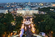 Music film festival at Vienna's Rathausplatz