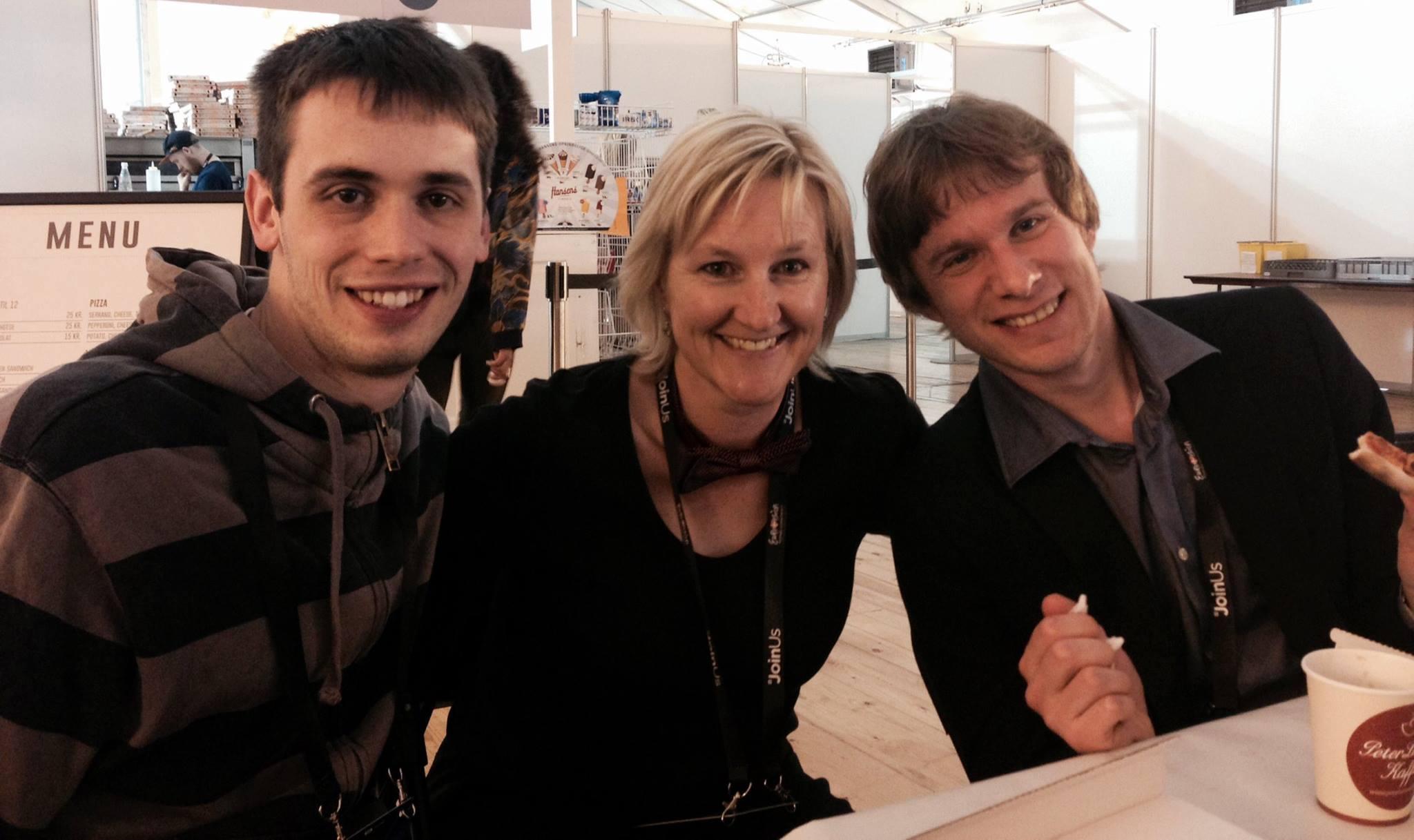 Vladislav Yakovlev, Kath Lockett, Luke Fisher