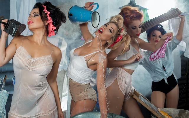 Секси Таня Феар В Белье – Чистота (2020)