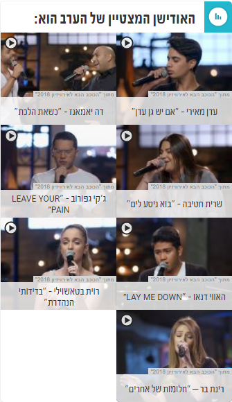 ESCKAZ - Eurovision 2018 - Netta Barzilai (Israel) / Нетта Барзилай