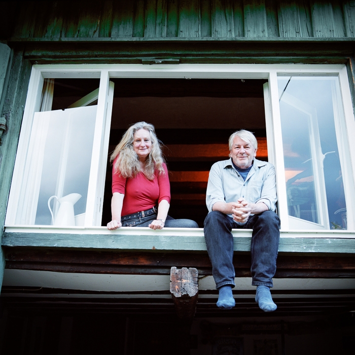 Nils Vest and Britta Lillesøe