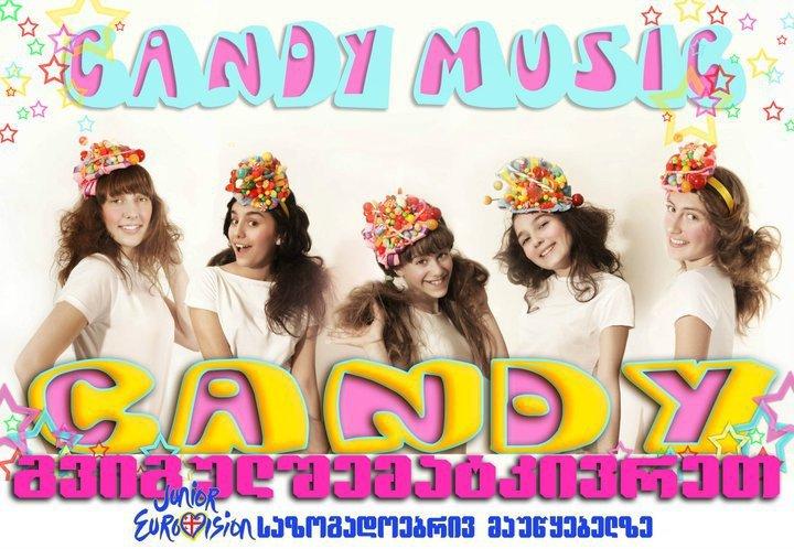 Group Candy  ( Georgia ) Candymusic