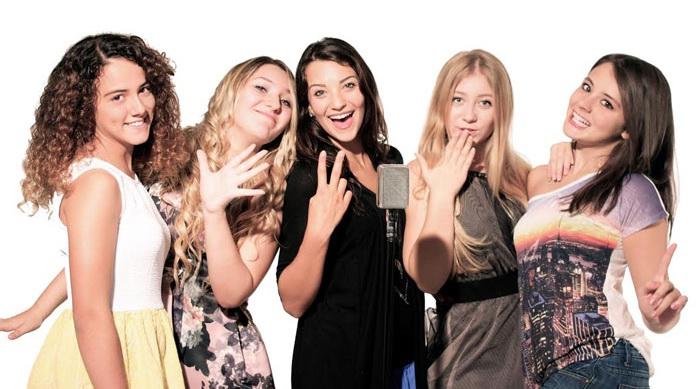 Raffaella, Greta, Anita, Ariane and Sara