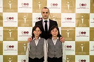 "Hassan and Ibrahim are one of the most successful children of foundation ""Dimitar Berbatov"" - with Dimitar Berbatov"