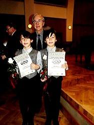 "International Competition - ""Liszt-Bartok-Ligetti"" 2013 - with acad. Atanas Kurtev"